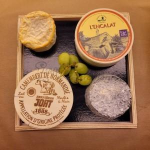 Tabla de 4 quesos